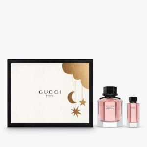 Bộ quà tặng nước hoa Gucci Flora Gorgeous Gardenia EDT (50ml + 5ml)