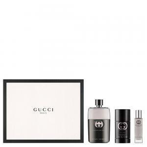 Bộ quà tặng nước hoa Gucci Guilty Pour Homme EDT 3 món (90ml + 75ml + 15ml)