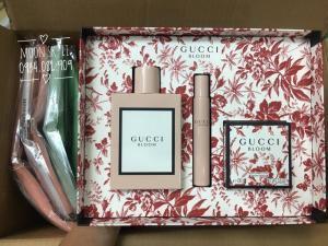 Bộ quà tặng nước hoa Gucci Bloom EDP 3 món